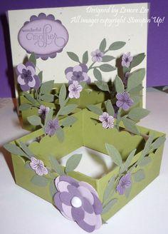 pop up cards flowers flower garden - Buscar con Google