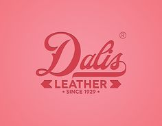 "Check out new work on my @Behance portfolio: ""Dalis Leather 