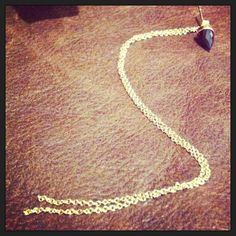 Ivy Bullet with faceted garnet and long double chain available as a single or as a set Double Chain, Ivy, Garnet, Bullet, Pendant Necklace, Jewellery, Silver, Gold, Beauty