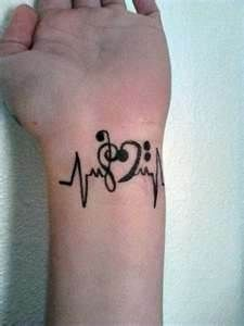 Music Tattoos I absolutely love this!!!