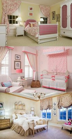 Selecting Curtains For Your New Daughter's Bedroom - http://interiordesign4.com/selecting-curtains-for-your-new-daughters-bedroom/