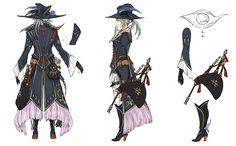 Bard Backside from Final Fantasy XIV: Stormblood