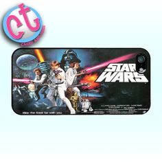 Star Wars Movie Poster  iPhone 5 Samsung Galaxy 4 by CasesandTees, $11.99