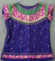 Rawsilk blouse with embroidery 7702919644