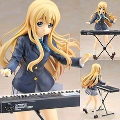 AmiAmi [Character & Hobby Shop] | K-On! - Tsumugi Kotobuki 1/8 Complete Figure(Released)