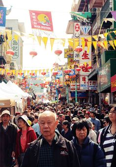 Chinatown, San Francisco ---------- #china #chinese #chinatown
