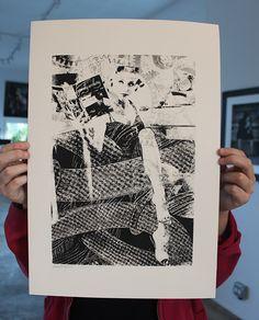 Image of HIWTAI - Industrious - Adam Maida - unframed
