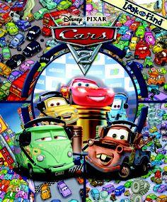 Disney Pixar Cars 2 (Look and Find)