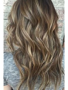 High and Low Lights on dark bronde hair