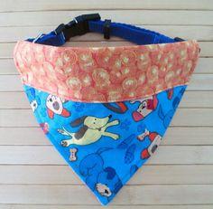 Dog Bandana Small Dog Scarf Pet Bandana Small by SammyandBeans