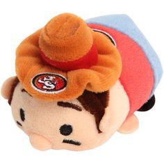 "San Francisco 49ers 4"" Mascot Stadium Stackers Plush Toy"