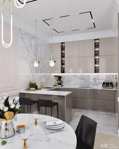 27 Modern Kitchen Interior Design That You Have to Try Kitchen Room Design, Modern Kitchen Design, Home Decor Kitchen, Interior Design Kitchen, Modern Interior Design, Kitchen Ideas, Interior Decorating, Modern Kitchen Interiors, Modern Farmhouse Kitchens