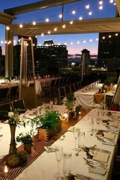 Andaz San Diego Rooftop Wedding Ceremony Rooftop