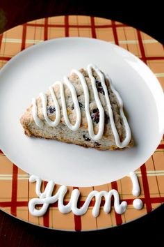 Simple Carrot Cake Scones from @The Kitchen Magpie- Karlynn Johnston