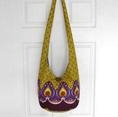 Hobo Bag Crossbody Bag Sling Bag Hippie Purse Boho by 2LeftHandz