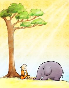 *Today's Buddha Doodle* - A Meditation