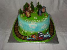 cake krteček dort