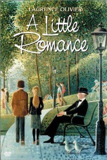 """A Little Romance"" (1979). A French boy (Daniel) and an American girl (Lauren), who goes to school in Paris, meet and begin a little romance.  Charming movie, with Laurence Olivier and Diane Lane."