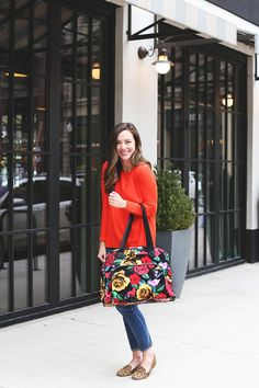 Katie of Little Black Blog loves our Go Anywhere Carry-On. See why it's the best carry-on bag for your next vacation.