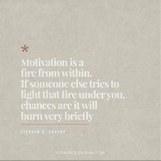 Light your own fire 🔥 What motivates you?  .  .  .  .  .  #fiveminutejournal #intelligentchange #gratefulness #mindfulness #journal #journaling #stationery #stationeryaddict #motivation #inspiration #positivevibes #mentalheath #serenity #welness #innerpeace #dreams #selflove #positivity #positivethinking #practicemindfulness #mediation #gratitude #consciousness #wisdom #quote #balance #awekening #lifestyle #lawofattraction #soul
