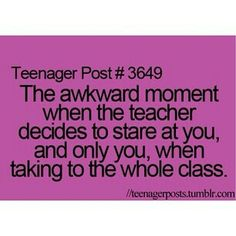 Omg so awkward!