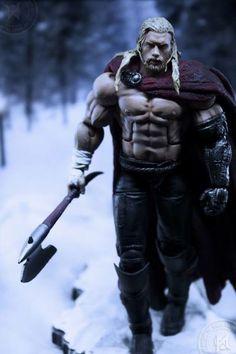 Thor UNWORTHY Custom Action Figure