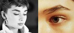 Audrey Hepburn Eyebrows