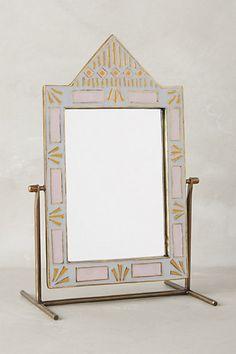 Geo-Tile Vanity Mirror