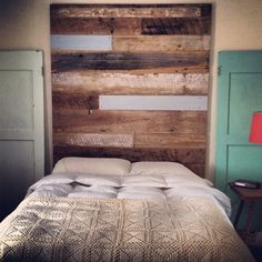 Reclaimed Wood Tall Headboards Unique Design