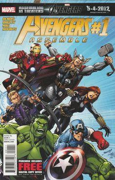 Avengers Assemble # 1 Marvel Comics