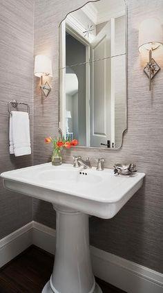Small pedestal sinks for powder room sink bathroom ideas with designs best si . pedestal sinks by standard small sink with storage bathroom category . H Design, Modern Design, House Design, Design Ideas, Modern Decor, Bad Inspiration, Bathroom Inspiration, Bathroom Renos, Bathroom Furniture