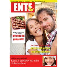 hochzeitszeitung beispiel titelblatt - Hochzeitszeitung Beispiele