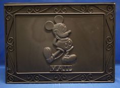 Disney Display Mailbox Cast Wrought Iron Mickey Mouse House Home Prop Mail Box #DisneyShopping