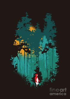 The woods belong to me Digital Art by Budi Satria Kwan - The woods belong to me Fine Art Prints and Posters for Sale