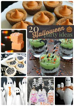 20 More Halloween Party Ideas!! -- Tatertots and Jello #DIY #Halloween