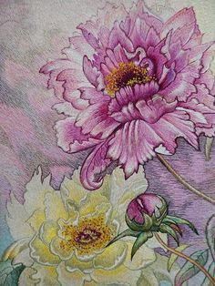 In this tutorial, we love to list the different kinds of embroidery stitches you can use that anyone can learn. It is not bound to be used on the leaves pattern but these stitches are simply amazing on all kinds of embroidery patterns. Border Embroidery Designs, Embroidery Patterns Free, Hand Embroidery Stitches, Embroidery Needles, Crewel Embroidery, Ribbon Embroidery, Cross Stitch Embroidery, Thread Painting, Silk Painting