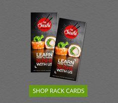 Shop Rack Cards