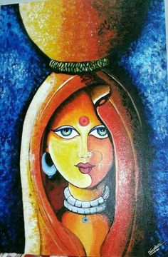 "Obtain wonderful ideas on ""modern abstract art painting"". They are offered for you on our website. Oil Pastel Colours, Oil Pastel Art, Oil Pastel Drawings, Art Drawings, Oil Pastel Paintings, Buddha Kunst, Buddha Art, Indian Art Paintings, Modern Art Paintings"