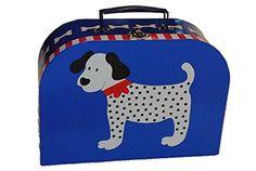 Jasper, Suitcase, Puppets, Doggies, Blue, Suitcases, Briefcase