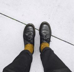 Docs and Socks: The Made In England 1461 Pebble shoe. Photo by dvd_ian.