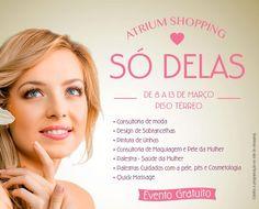 Atrium Shopping abre espaço dedicado à saúde e beleza da mulher   Jornalwebdigital