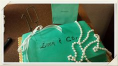 My Breakfast at Tiffanys party cake