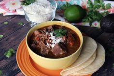 Carne Guisada - Slow Cooker (Mexican Beef Stew) #tex-mex #beef fajitas #U S Southwest #beef tacos #justapinchrecipes