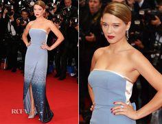 Lea Seydoux In Louis Vuitton - Grand Central Cannes Film Festival Premiere