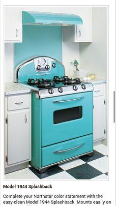 Cool retro oven