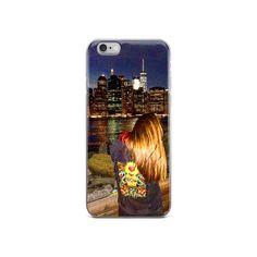 Night Time Manhattan Gazer - IPhone Case
