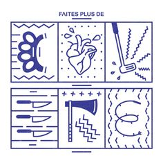 Faites plus de ... on Typography Served