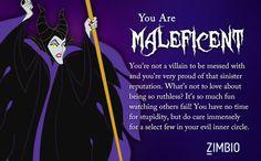 Which Disney Villain Are You? I took Zimbio's Disney villains quiz and I'm Maleficent! Disney Villains Quotes, Maleficent Quotes, Sleeping Beauty Maleficent, Disney Maleficent, Evil Villains, Disney Sleeping Beauty, Disney Quotes, Disney Marvel, Evil Disney