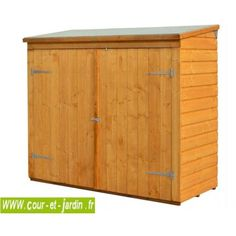 Store 8x3 PENT TOOL STORE TIDY BIKE STORE SHED GARDEN MOWER WOODEN ...