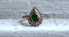 RESERVED Awesome Vintage 14K Rose Gold Diamond and by GoldAdore